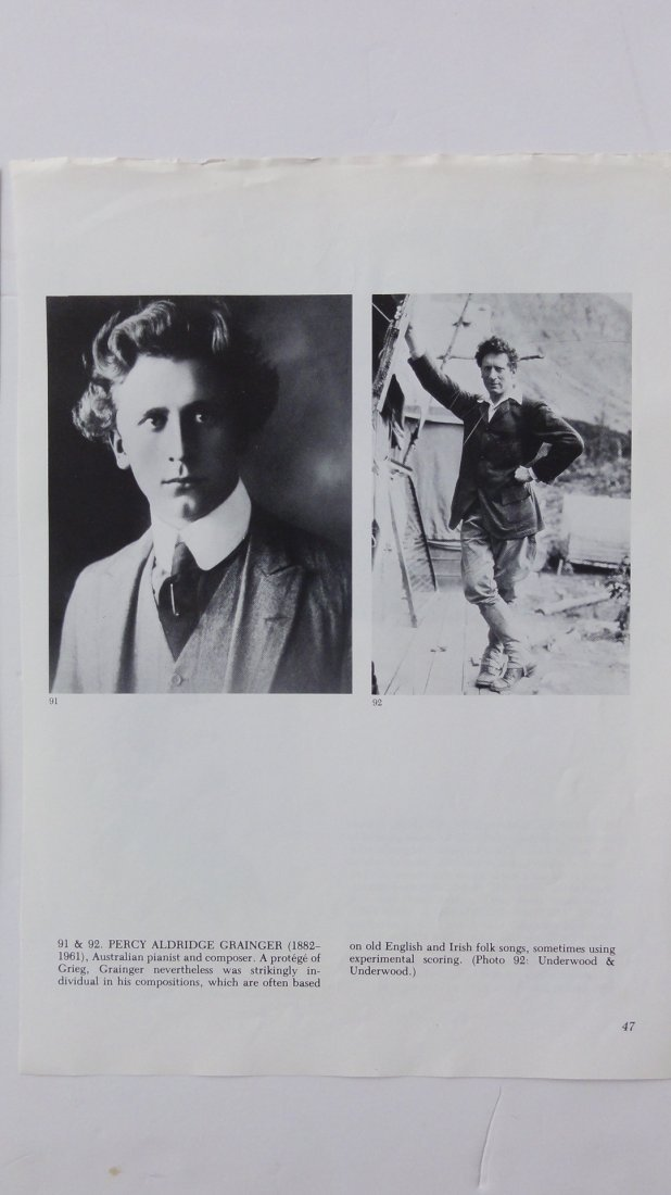 Percy Grainger Autograph & Concert Program from Phoenix - 8
