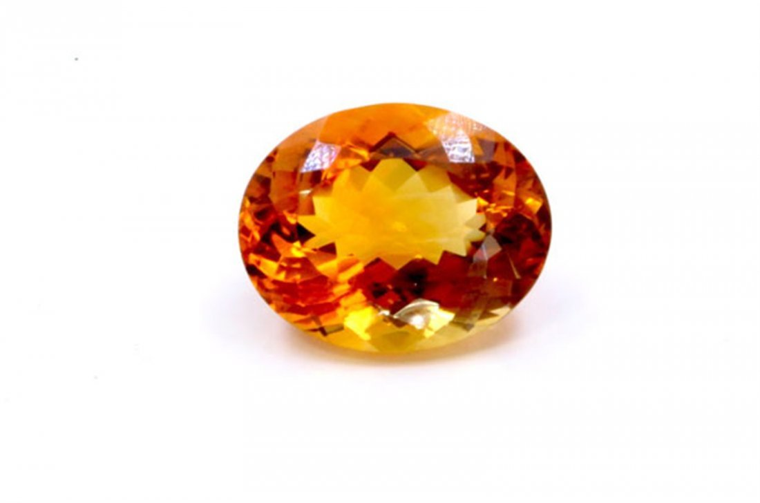 153 ct & up Citrine Oval Shaped Loose Stone