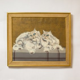 Foussa Itaya Painting Of Cats
