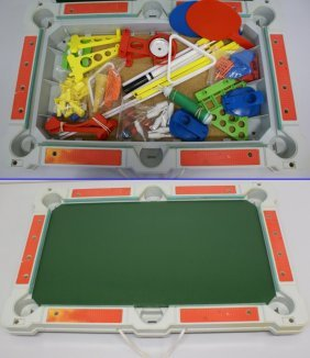 Vintage Tabletop Super Sports Arena Multi Table Game