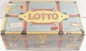 Vintage Lotto Travel Trunk Version Game By Parker