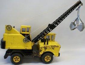 Original Vintage 1960's Mighty Tonka Mobile Crane