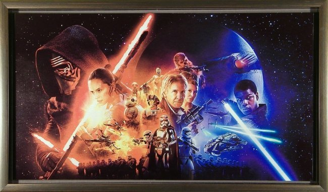 STAR WARS SUBLIMATED