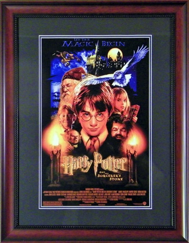 SMALL HARRY POTTER POSTER