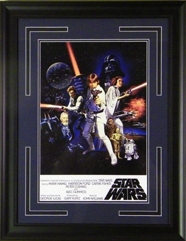 SMALL STAR WARS POSTER