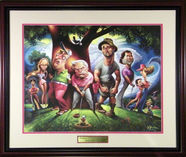 CADDYSHACK LIMITED EDITION GICLEE