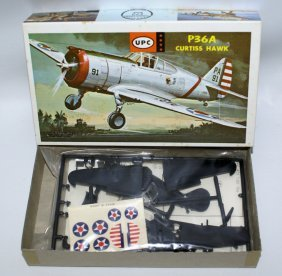 Vintage Upc 1:72 Scale P36a Curtiss Hawk Plane Model