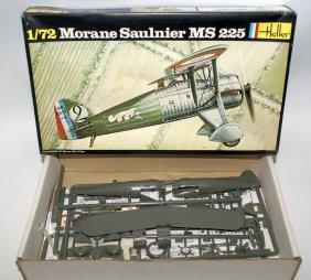 Vintage Heller 1:72 Scale Morane Saulnier Ms 225