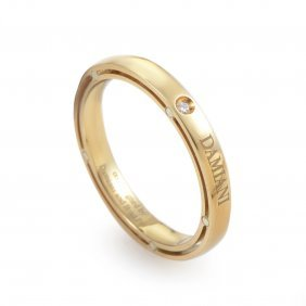 Brad Pitt 18k Yellow Gold Diamond Band Ring 20023910