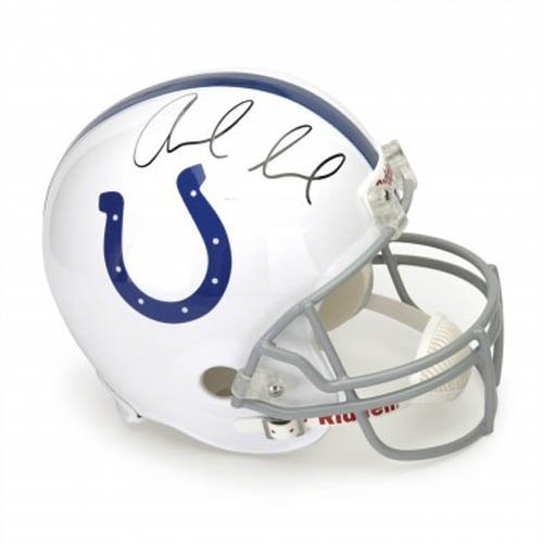 Andrew Luck Autographed Authentic Pro Full Size Helmet
