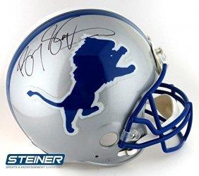Barry Sanders Autographed/signed Detroit Lions Riddell