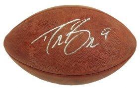Drew Brees Signed Authentic Wilson Duke Nfl Football