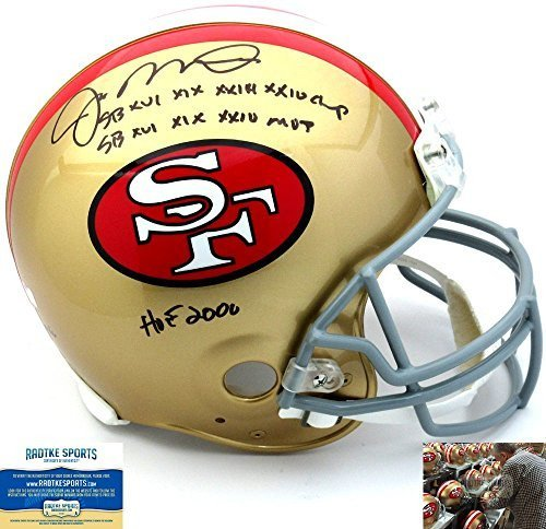 Joe Montana Autographed/Signed San Francisco 49ers