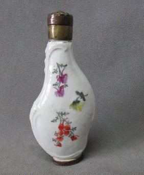 Antique French Rococo Perfume Bottle, Perfume Sprinkler