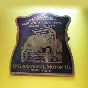 Antique Mack Truck Advertising Paperclip