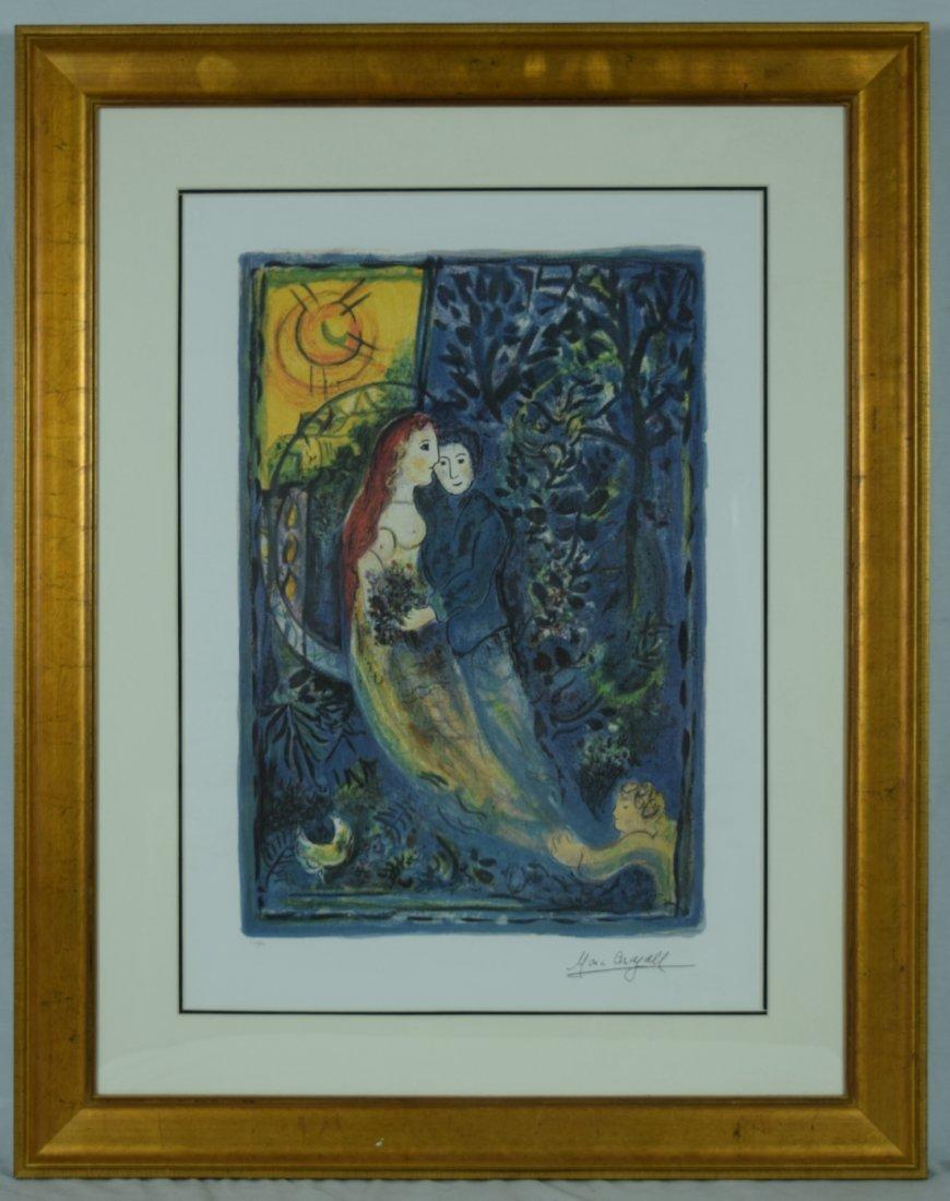 "Chagall ""The Wedding"" Giclee"