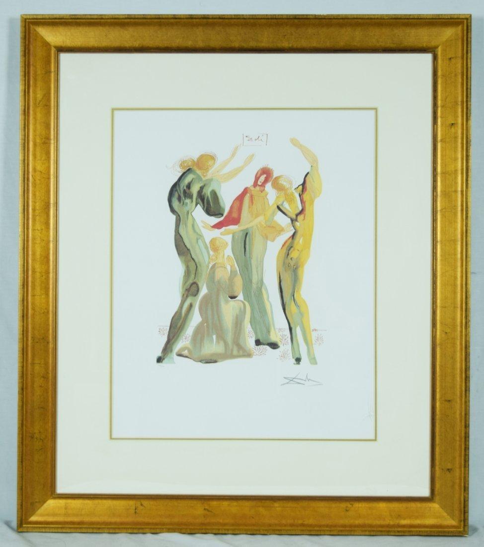 "Salvador Dali ""La Danse"" Giclee"