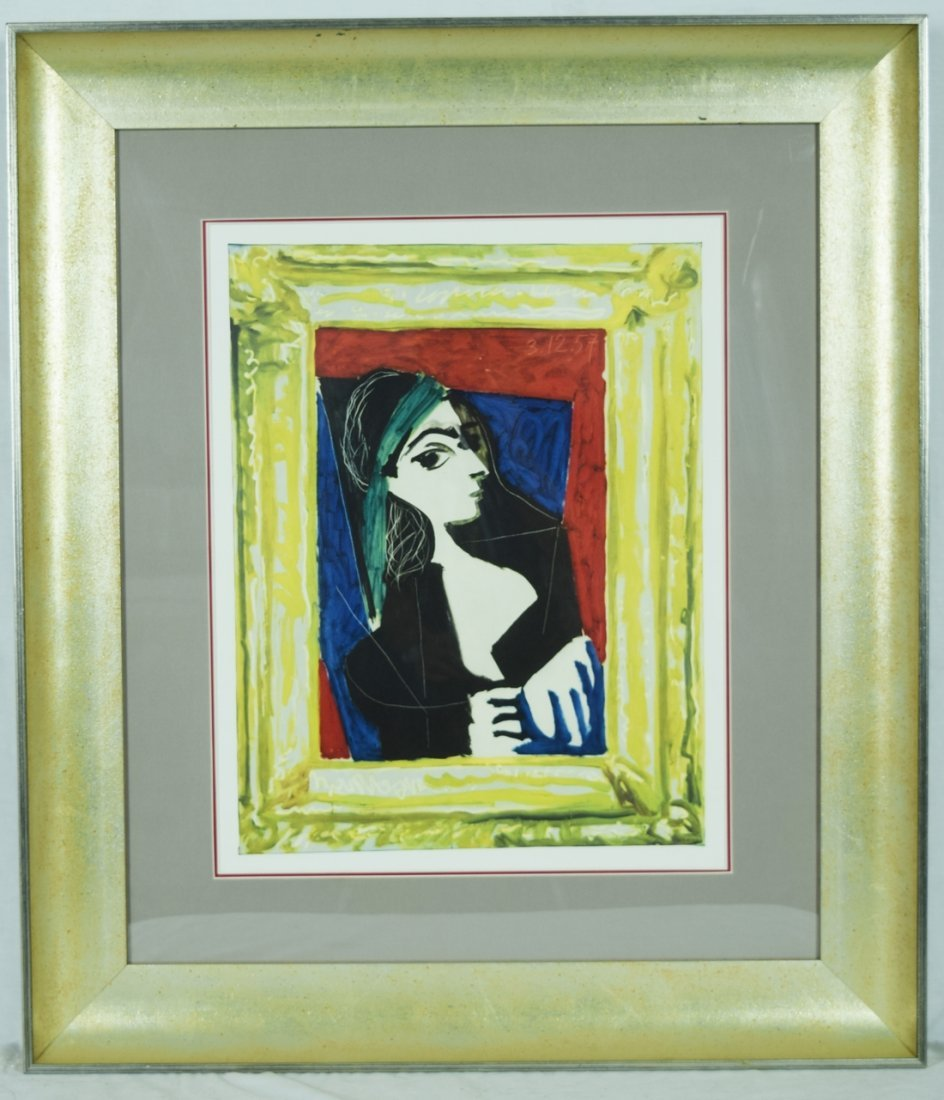 """Picasso """"Portrait of Jacqueline"""" Giclee"""