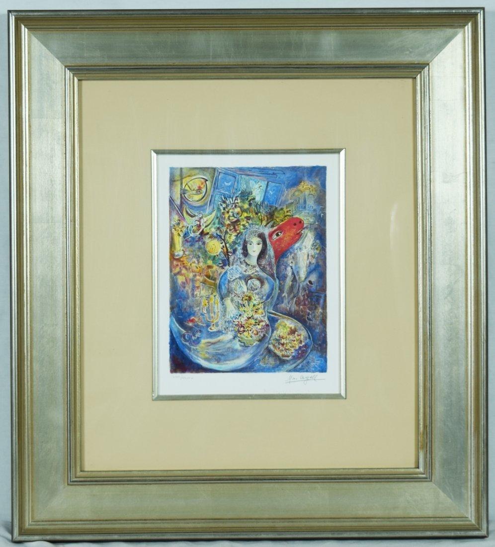 "Chagall ""Bella"" Giclee"
