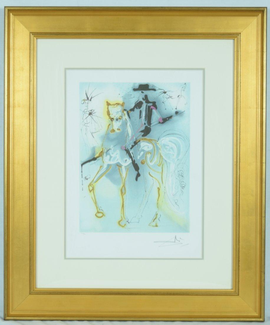 """Salvador Dali """"La Picador"""" Offset Print"""
