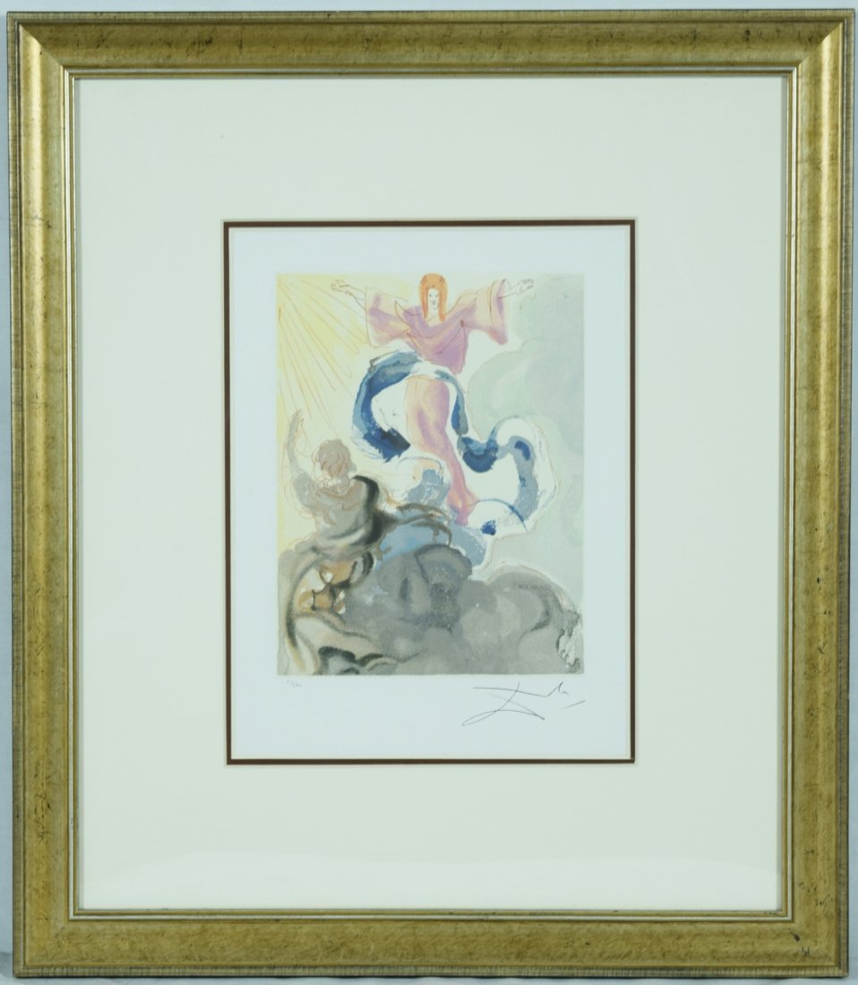 "Salvador Dali ""Piccarda Donati"" Offset Print"