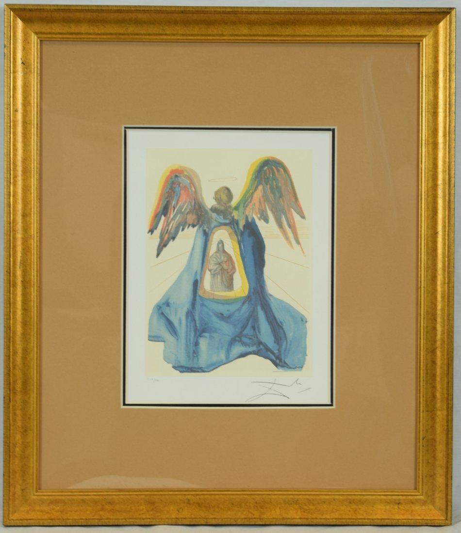 """Salvador Dali """"Dante Purified"""" Offset Print"""