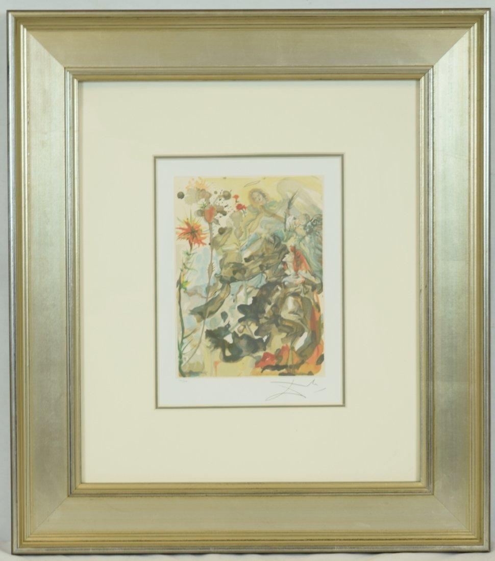 "Salvador Dali ""Apparation of St. James"" Offset Print"