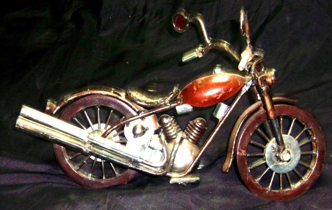 Motorcylce-Metal Sculpture-Breceda