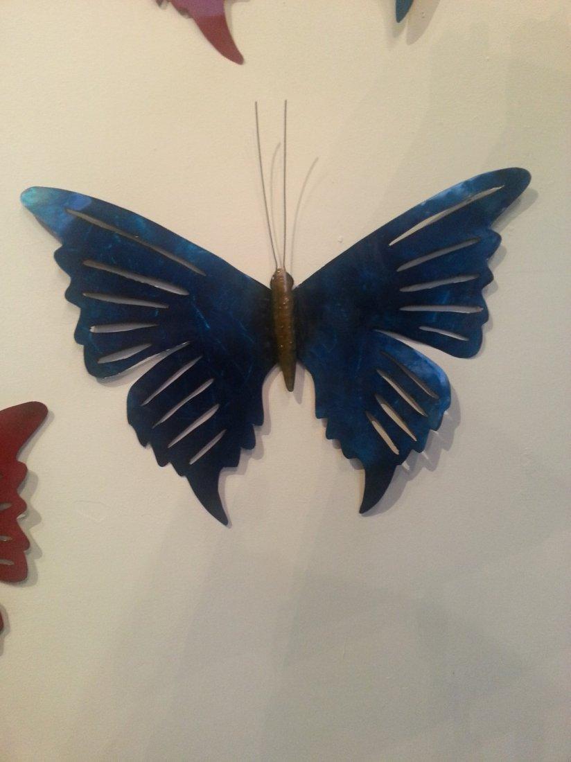 Butterfly Set of (3)-Metal Sculptures-Ricardo Breceda