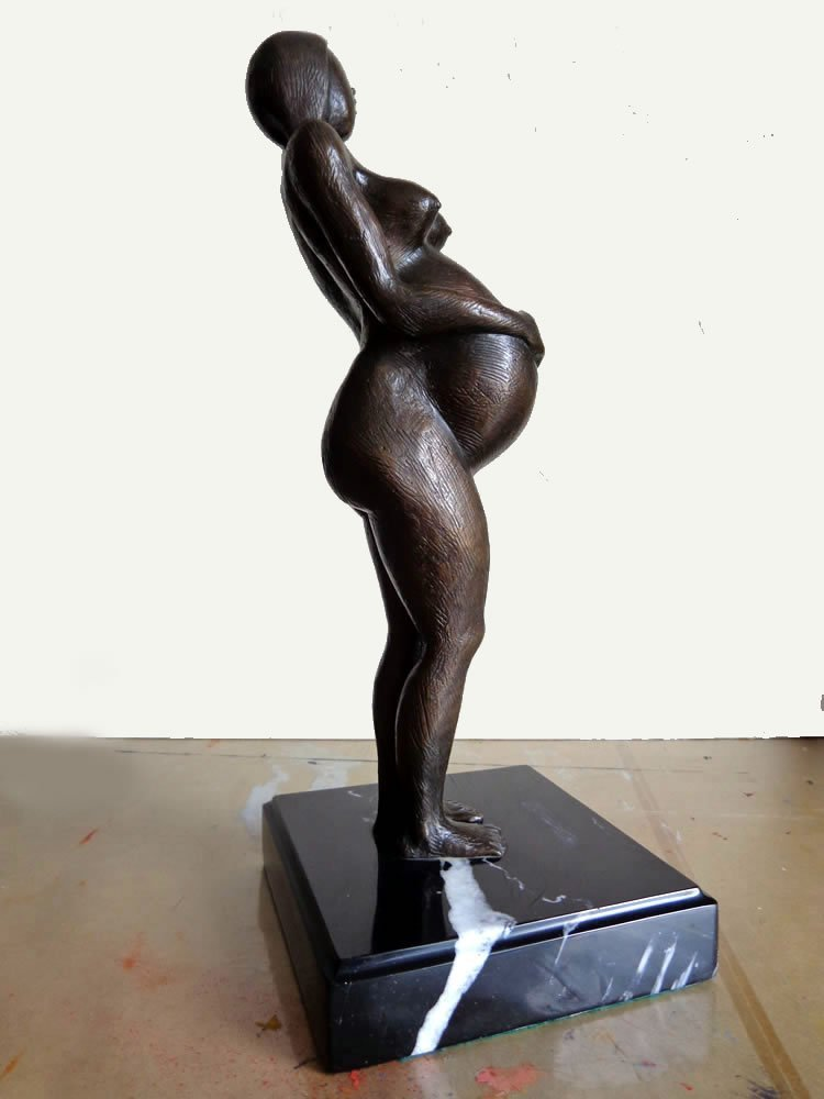 Bronze Sculpture Original Alvarez