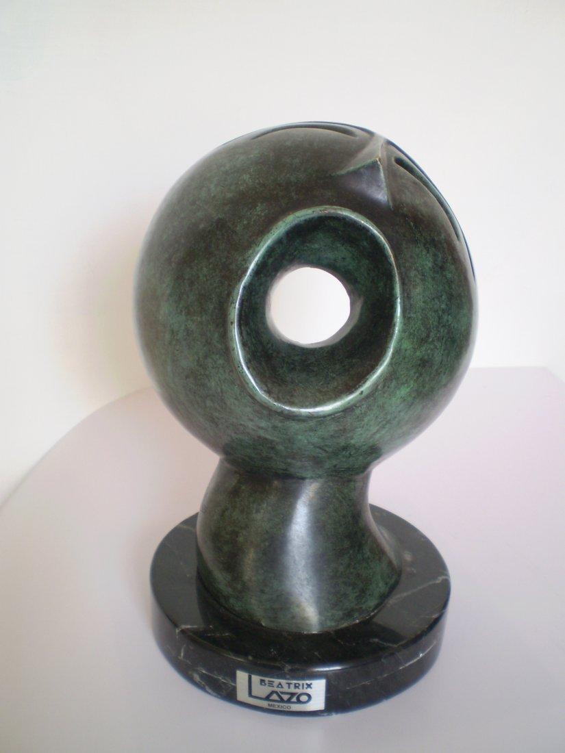 Semibreve-Bronze-Mexican Master Sculptress Beatrix Lazo