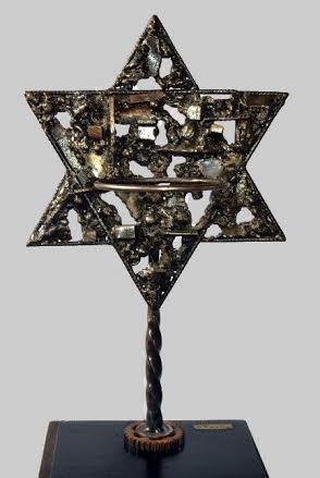 Star of David-Metal Sculpture