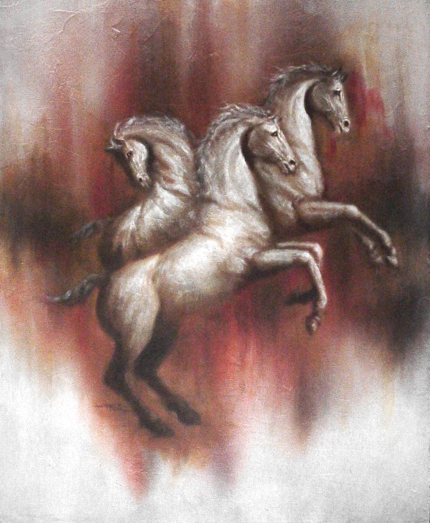Equestrian Tirade -Original Ramirez Aguilar