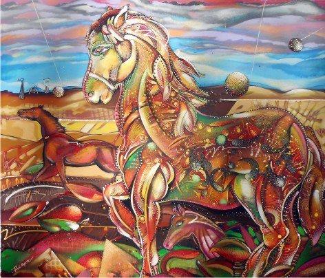 Equestrian Horse-Luis Riera
