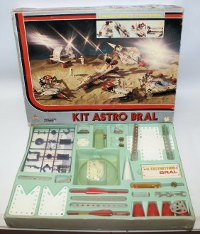 Vintage Kit Astro Bral # 90050 Space Construction