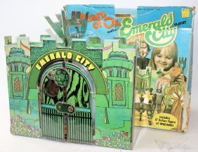 Vintage 1974 Mego Wizard Of Oz Emerald City Playset