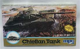 Vintage 1982 MPC 176 Scale CHIEFTAN Military Tank
