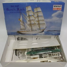 Minicraft Tall Ship Gorch Fock German Navy Training