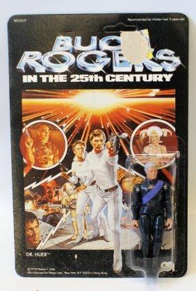 """Vintage 1979 Mego Buck Rogers Dr. Huer 3.75"""" Figure,"""