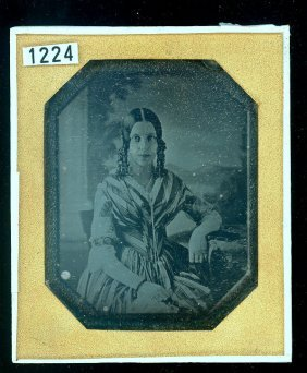 Copy Daguerreotype Of A Young Woman