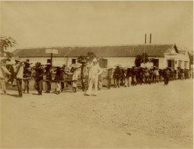 Chain Gang, Haiphong, Indochina, (vietnam). C1875