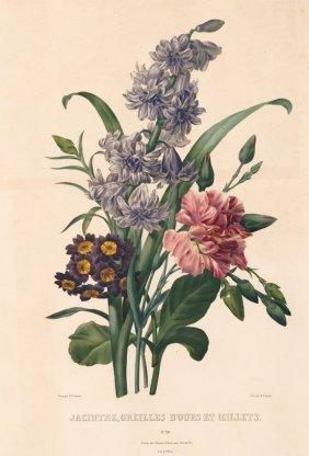 Bouquet By Pierre Joseph Redoute