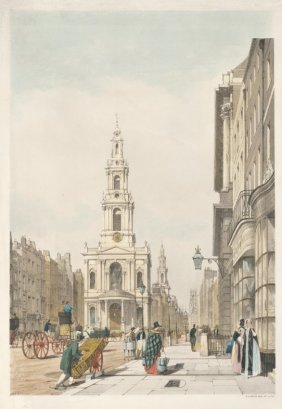 The Strand [st Mary Le Strand, St Clement Danes, And St