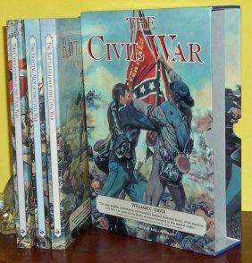 Collectible (3) Volume Slipcased Civil War History Set