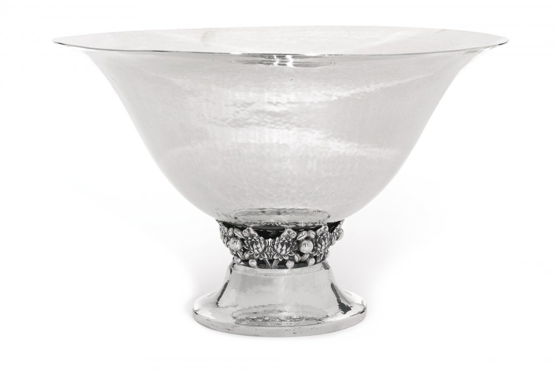 Fine Jensen Style Centerpiece Bowl by Black, Starr &
