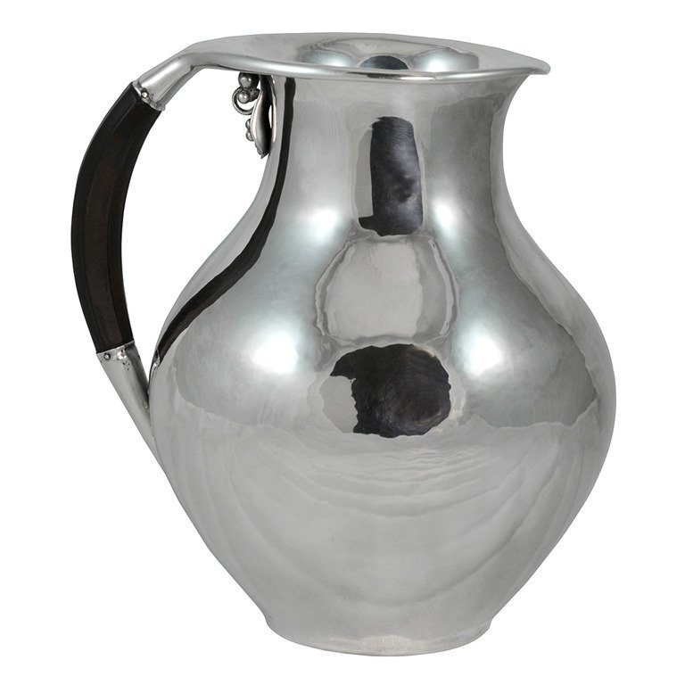 Georg Jensen Sterling Silver Pitcher #385