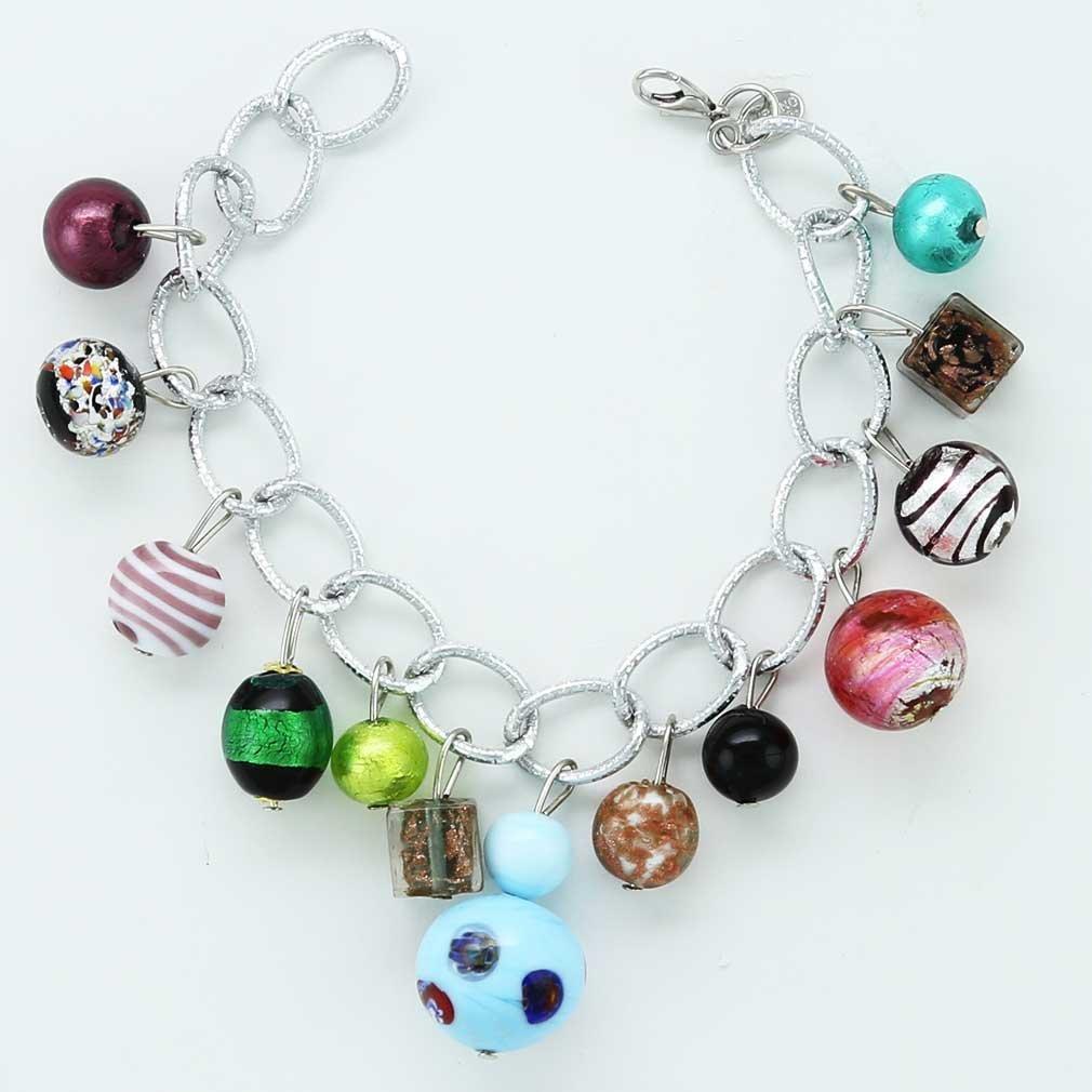 Salute Murano Charms Bracelet