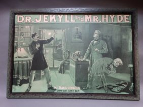 Dr Jekyll And Mr Hyde Theatrical Poster 1880s