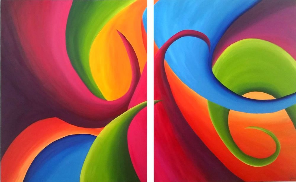 Mexico Colors - Acrylic on canvas -