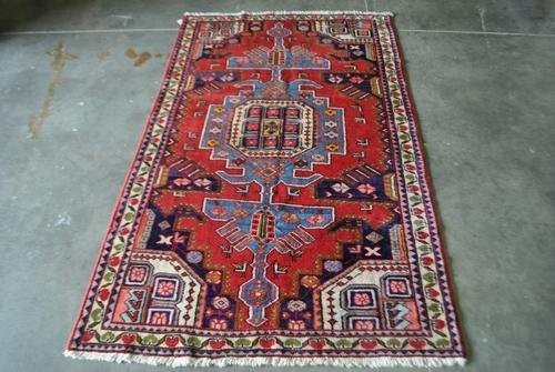 AN EXCLUSIVE HAND WOVEN GEOMETRIC DESIGN PERSIAN